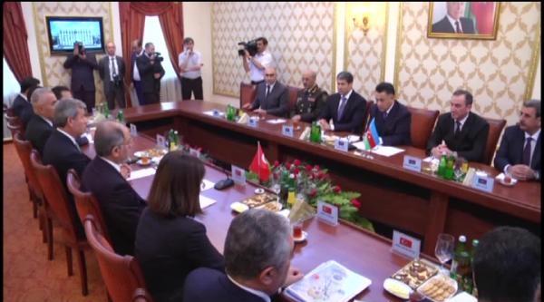 İçişleri Bakanı Ala, Bakü'de Mevkidaşı Ramil Usubov İle Görüştü