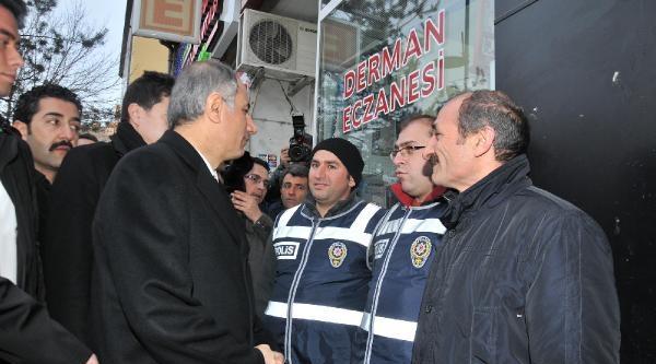 İçişleri Bakanı Efkan Ala Bayburt'ta