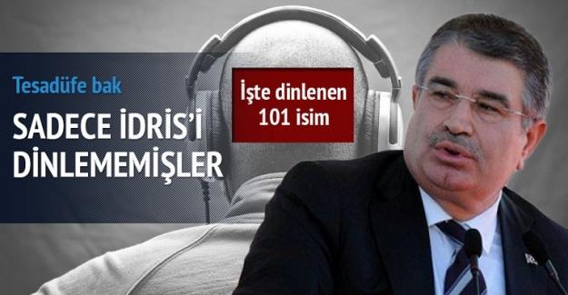 İçişleri Bakanı İdris Naim Şahin hariç, 2011-2013 arasında tüm Bakanlar