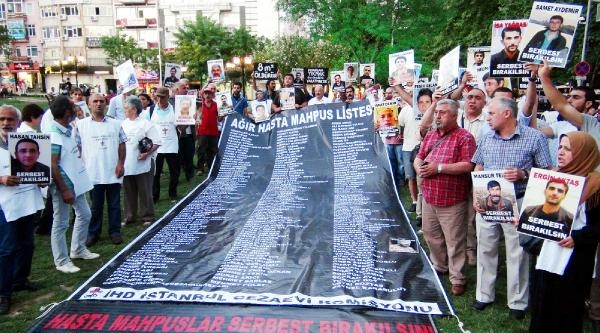 İhd Cezaevi Komisyonu Üyeleri, İstanbul'dan Ankara'ya Yürüyor