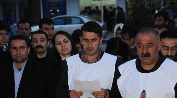 İhd, Cezaevlerindeki Hasta Tutuklular İçin Mumlu Eylem Yaptı