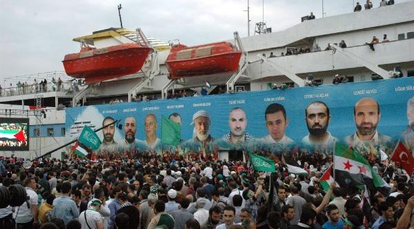 İhh Mavi Marmara'nın 4üncü Yılında Yürüyüş Düzenlendi