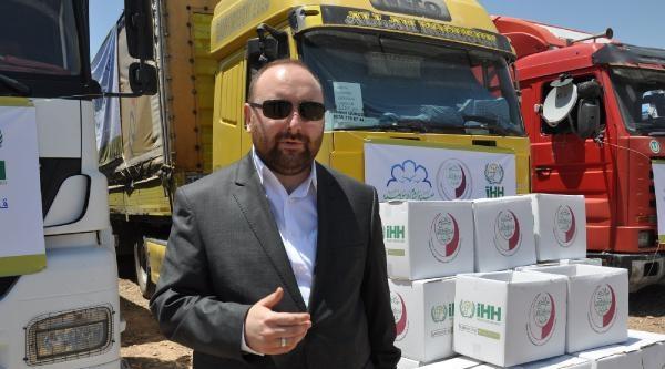 İhh, Suriye'ye 45 Yardım Tır'ı Gönderdi