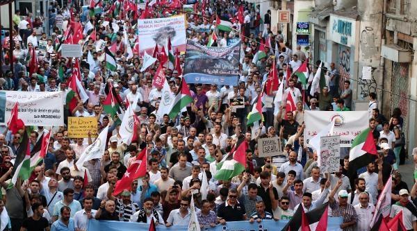 İhh Ve Memur-sen'den İsrail Protestosu