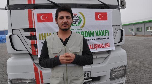 Ihh'nin 3 Yardim Tir'i Suriye'ye Gidiyor