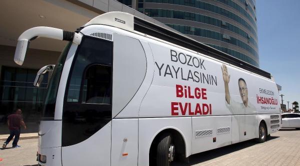 İhsanoğlu: Anadolu Toprakları Birlik Ve Beraberliğin Vatanı Olsun  - Ek Fotoğraflar
