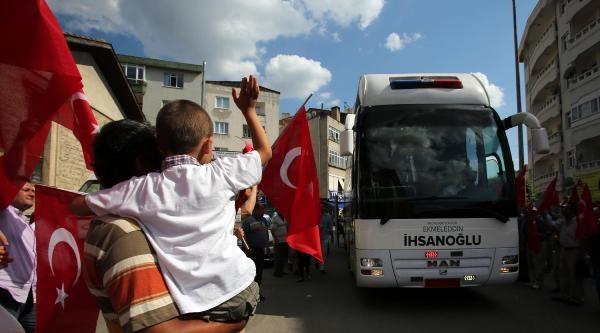 İhsanoğlu: Bayrağın Ve Vatanın Birliği Türkiye'nin Kırmızı Çizgisidir (2)