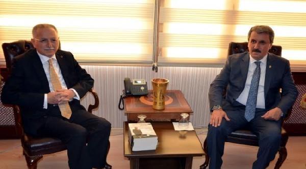 İhsanoğlu, Bbp Genel Başkanı Destici'yi Ziyaret Etti / Ek Fotoğraflar