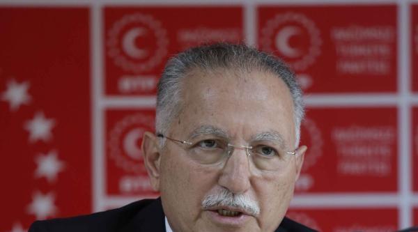 İhsanoğlu, Btp Genel Başkanı Haydar Baş'ı Ziyaret Etti