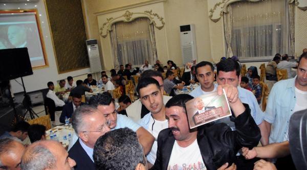 İhsanoğlu, Diyarbakır'da Beyaz Güvercin Uçurularak Karşılandı (3)