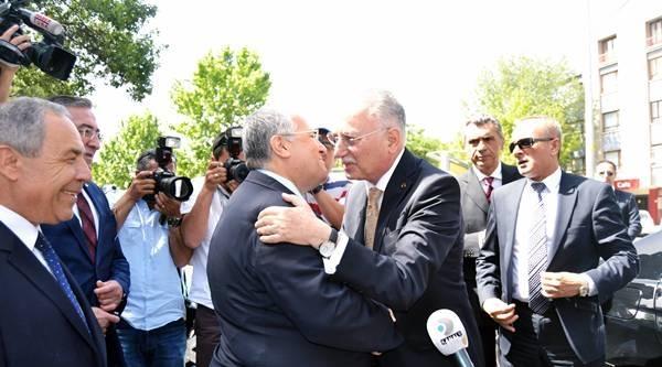 İhsanoğlu, Dsp Genel Başkanı Türker'le Görüştü / Fotoğraflar