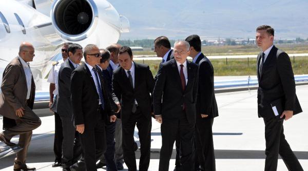 İhsanoğlu Erzurum'da 200 Araçlık Konvoyla Karşılandı (1)