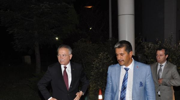İhsanoğlu Erzurum'da 200 Araçlık Konvoyla Karşılandı (5)