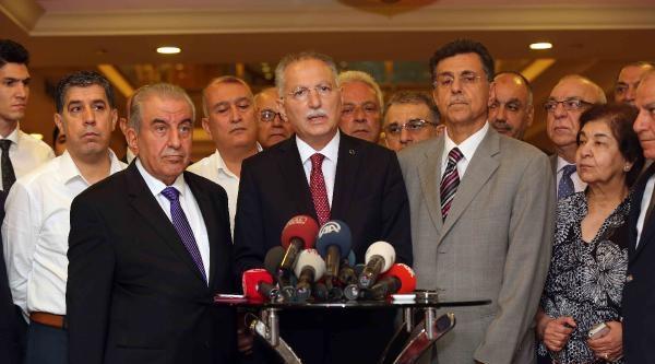 İhsanoğlu, Türkmen Cephesi Kanaat Liderleriyle Görüştü / Fotoğraflar