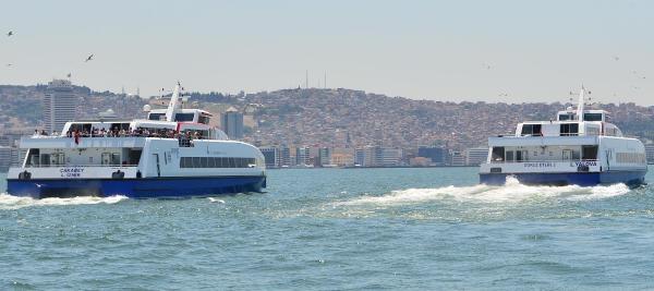 İkinci Gemi 'dokuz Eylül' De İzmir'e Geldi