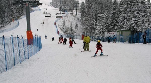 Ilgaz Daği'Nda Kayak Sezonu Açildi