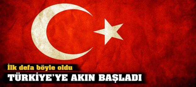İlk defa böyle oldu! Türkiye'ye akın başladı!