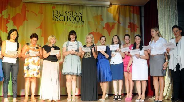 İlk Ders Zili Rus Okulu'nda Çaldi
