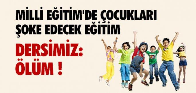 İLKÖĞRETİM ÖĞRENCİLERİNE ''KORKUTAN'' EĞİTİM !