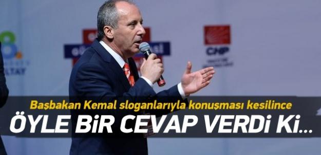 İnce, Kılıçdaroğlu taraftarlarını susturdu