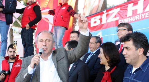 İnce'den Erdoğan'a: Sen 4 Parmak Gösteriyorsun Sana 1 Parmak Göstermişler Çok Mu? (2)