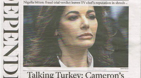 Independent: Cameron'un Türkiye Kumari