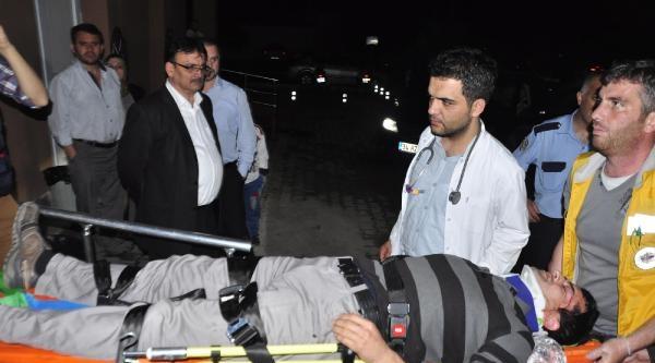 İnegöl'de Kaza: 8 Yaralı