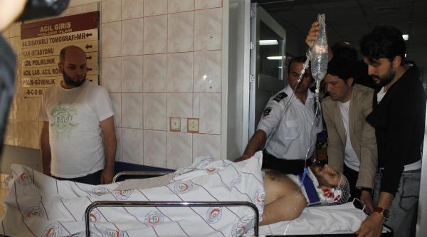 İnegöl'de Silahlı Saldırıda Kulağından Yaralandı