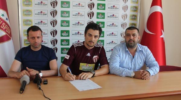 İnegölspor Mustafa Vargel'le Sözleşme İmzaladi