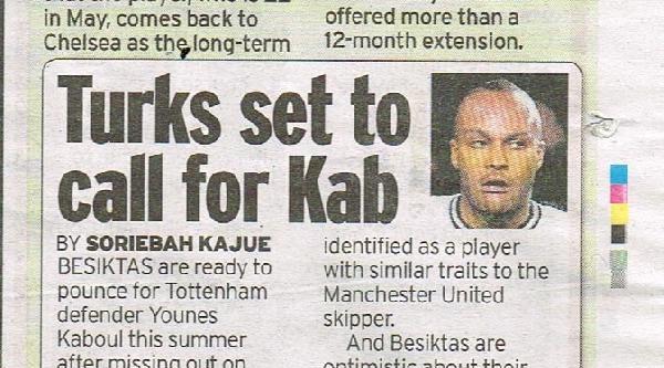İngiliz Basını, Beşiktaş'ın Younes Kaboul'u Transfer Etmek İçin Harekete Geçtiğini Yazdı