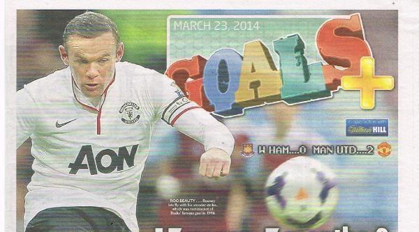 İngiliz Basını, Wayne Rooney'nin Golünü