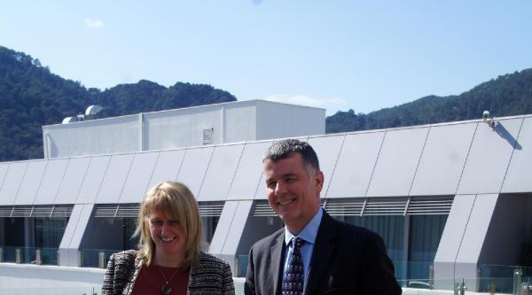 İngiliz Büyükelçi Ve Eşi Marmaris'te
