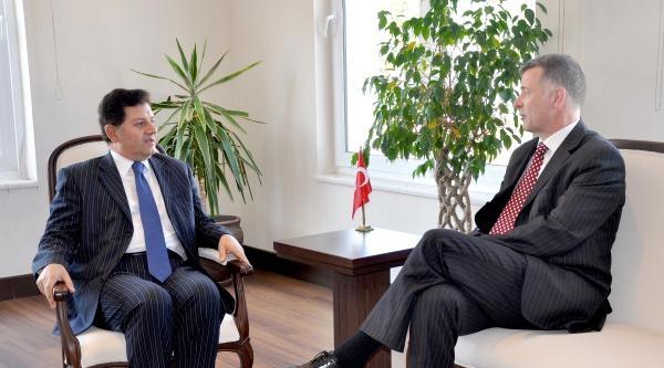 İngiliz Büyükelçi'den Bodrum Ziyareti