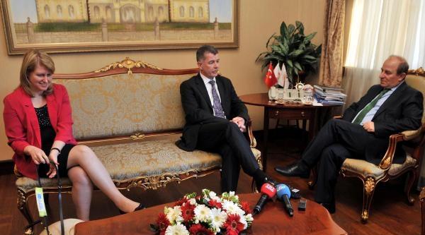 İngiliz Büyükelçi'den Vali Öztürk'e Ziyaret