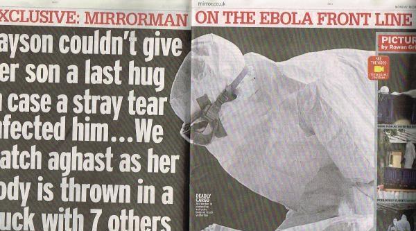 İngiliz Gazetesi Liberya'da 'ebola'yı Araştırıyor