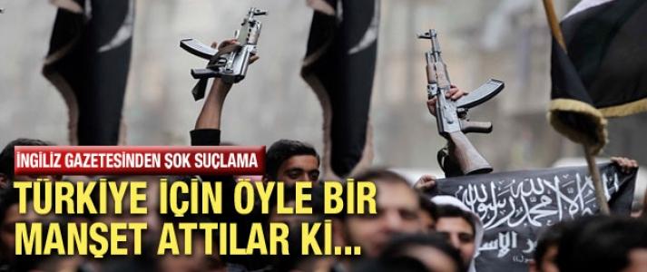 İngiliz gazetesinden şok Türkiye manşeti