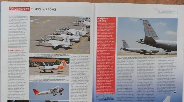 İngiliz Havacılık Dergisi Türk Hava Kuvvetleri'ne 11 Sayfa Ayırdı