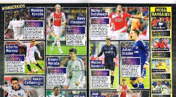 İngiliz Match Dergisi, Premier Lig'e Gelecek 50 Futbolcuyu Yazdı