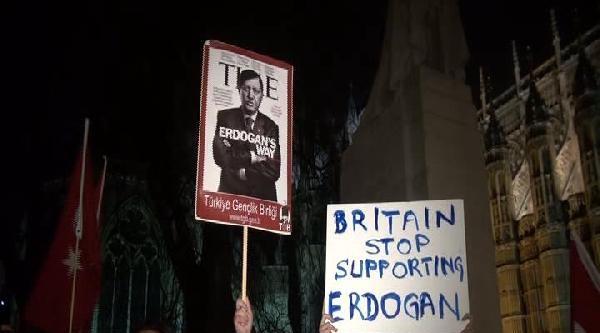 İngiltere Parlamentosu Önünde Berkin Eylemi