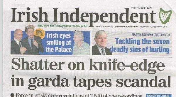 İngiltere Ve İrlanda Polisinden Yolsuzluk