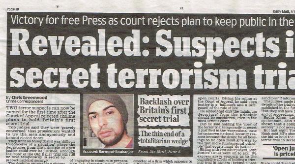 İngiltere'de İlk Defa Gizli Yapılacak Mahkemedeki İki Sanıktan Biri Türk Asıllı İngiliz