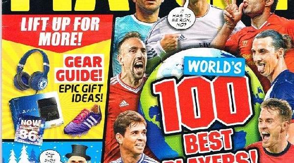 Ingiltere'nin En Popüler Futbol Dergisi Match, Avrupa'nin En Iyi 100 Futbolcusunu Açikladi