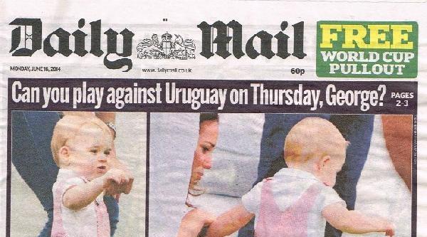 İngiltere'nin İtalya Yenilgisi Ardından Prens George'un Brezilya'ya Götürülmesi İçin Kampanya Başlatıldı !..