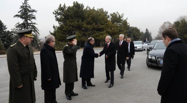 Inönü, Kiliçdaroğlu'nun Katildiği Devlet Töreni Ile Anildi