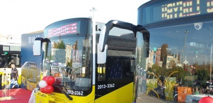 İnternetli otobüsler hizmete girdi...