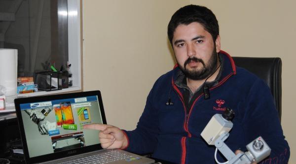 İnternetten Cep Telefonu Siparişi Verdi, Oyuncak Güvenlik Kamerası Geldi