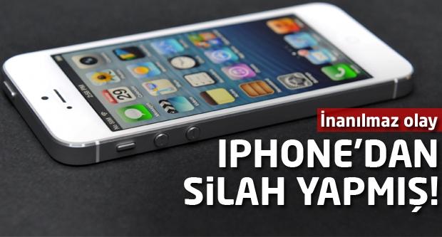 iPhone'dan ölümcül silah yaptılar!
