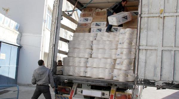 Iplik Bobinlerinin Arasindan 130 Bin Paket Kaçak Sigara Çikti
