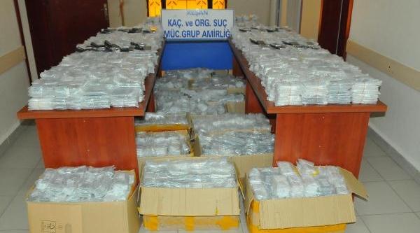 Ipsala'Da 9 Bin 958 Kaçak Cep Telefonu Ele Geçirildi