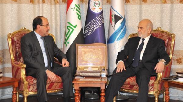 Irak Başbakanı Maliki, Ulusal İttifak Başkanı Caferi İle Gelecek Hükümeti Görüştü